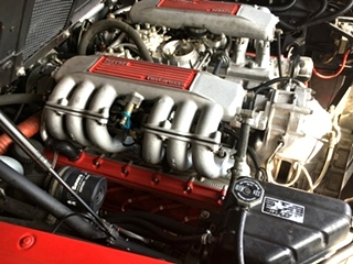 Ferrari Valve Job and Head Gaskets